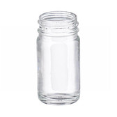1oz Bottle, Wide Mouth, Straight Side Round, Type III Clear, 33-400 neck, case/432