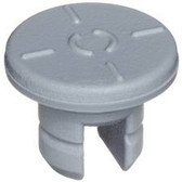13mm Stopper for Lyophilization, 2 Leg (7X13) Butyl Gray, case/1000