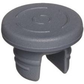20mm Stopper for Lyophilization, 2 Leg, Butyl Gray, Siliconized, case/1000