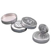 Wheaton W224199 28.5mm Cap, Tamper-Evident, Aluminum, Case/5000