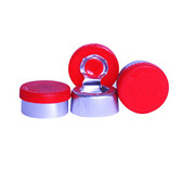 Wheaton W224207 13mm Aluminum Seal, Flip Tear Off, Red, Case/1000