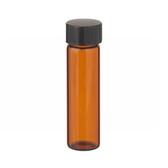 Wheaton W224684 8mL Amber Vials In Lab File, PTFE /Rub Liner, case/144