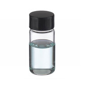 Wheaton W225293 6mL, Shorty Vials In Lab File, Rubber Lined, Case/200