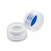 ABC 9mm PP Hole Caps, Blue, PTFE /White Silicone Liner, case/1000