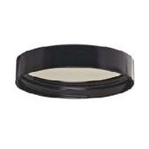 Wheaton W239308 58-400 Black Phenolic Caps, 14B Rubber Liner, Case/72
