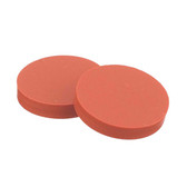 Wheaton W240580 8mm Septa, PTFE/Silicone Red, Case/100