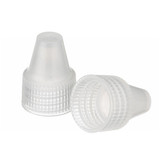 Wheaton W242531-01-A 13-425 Dropper Bottle Cap, PP Natural, Case/1000