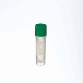 2mL Ext FS CryoElite Vials, Green Cap, Label, sterile, case/500