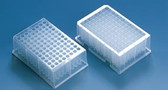 96 Deep-Well Plate, PP, Stackable, 2.2mL, Square, Non Sterile, case/24