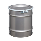 Stainless Steel Drum, 10 gallon, Open Head