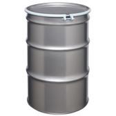Stainless Steel Drum, 55 gallon, Open Head
