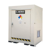 Justrite 911020 Outdoor Safety Locker, Non-Combustible, 2 Drum