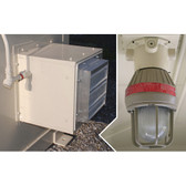 Justrite 915501 accessory, Interior Light and Exhaust Fan Electrical Package