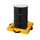 "Eagle T8001 Quik-Deploy SpillNest Spill Containment, 2' x 2' x 4"", 10 Gal, Yellow"