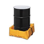 "Eagle T8001FS Folding Quik-Deploy SpillNest Spill Containment, 2' x 2' x 6"", 15 Gal, Yellow"