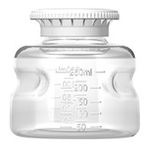Autofil Reservoir Bottle and Cap, 250mL, Polystyrene, case/24