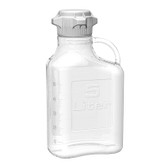 Carboy, Clear PETG, 5L, VersaCap 80mm (83B) EZgrip