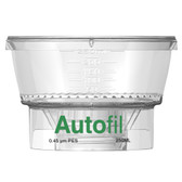 250mL, 0.45um PES, Funnel, Only, for Vacuum Filter, Autofil, case/24