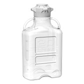 Carboy, Clear PETG, 20L, VersaCap 120mm, EZgrip