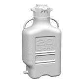 Carboy, HDPE, 20L with Spigot, VersaCap 120mm, EZgrip