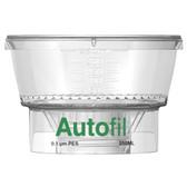 250mL, 0.1um PES, Funnel, Only, for Vacuum Filter, Autofil, case/24