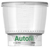 500mL, 0.1um PES, Funnel, Only, for Vacuum Filter, Autofil, case/24
