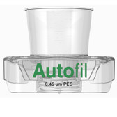 Centrifuge Funnel Only, 15mL, 0.45um PES, Autofil, case/48