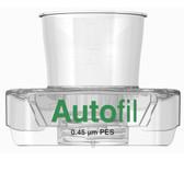 Centrifuge Funnel Only, 15mL, 0.45um PES, Autofil, case/48