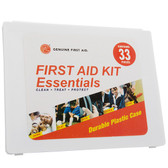 Mini 33 Piece All Purpose First Aid Kit, case/100