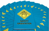 MARCOM Safety Orientation Employee Booklet, pack/15
