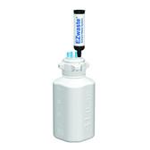 EZwaste System, 4L Bottle, 83B VersaCap, 6 Ports (1/8 OD) Carbon Filter
