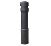 UltraTech 1743 Bollard Post Protector, Decorative Model, Black