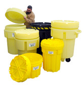 UltraTech 0585 Overpack Plus Drum Containment, 20 gallon, Yellow
