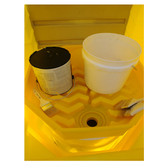 UltraTech 9670 Paint Waste Collection Center and Spill Tray