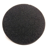 solid filter for lock-out tag-out of chemical drums