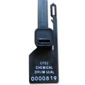Chemical Drum Seal Tags, Lock Out Tag Out, for Drum Safety Clamps, pack/10