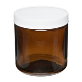 Certified Clean 2oz Amber Glass Sample Jar, 53-400, case/24