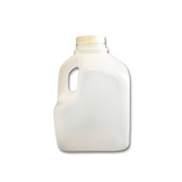 32oz Dairy Jug/ Juice Container, Squat Square, HDPE, case/108