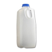 64oz Dairy Jug/ Juice Container, Square, HDPE, case/40