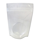 Heat-Seal Bags, 4.5 mil Clear Stand Up Zipper Bag, case/500