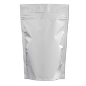 Heat-Seal Bags, 4 mil Stand Up Foil Zipper Bag, case/500