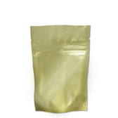 "Heat-Seal Bags, 4.5 mil Stand Up Gold-Foil Zipper Bag, 4 x 6"", case/500"