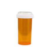 Economy Rx Amber Vials, Child Resistant, Reversible, 40 dram (150cc) case/130