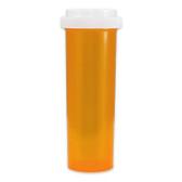Economy Rx Amber Vials, Child Resistant, Reversible, 60 dram (175cc) case/90
