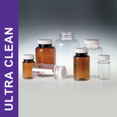 Product Family: Ultra Clean 4oz (120ml) Clear PET Packers, 38-400 White Polypropylene Foam Lined Cap