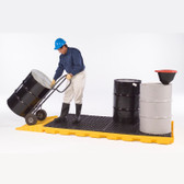 UltraTech 1075 Spill Deck P8, One-Piece 8-drum Spill Deck