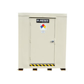 Outdoor Storage Locker, 2 Hour Fire Rated, 4 Drum, Explosion Relief