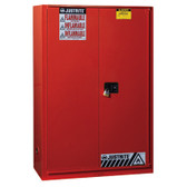 Safety Cabinet, P&I 60 gal, SC/Bifold Red
