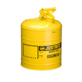 Justrite Safety Can, Automatic Pressure Release, 5 gal, Type 1