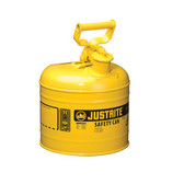 Justrite Safety Can, 2 gal, Type 1, Choose Color